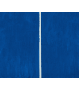 Barnett Newman - Onement VI. Printing on canvas