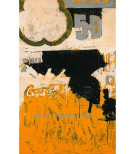 Mario Schifano - All Propaganda. Printing on canvas