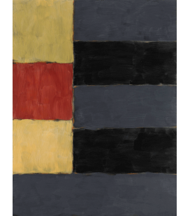 Sean Scully - Enter Yellow. Printing on canvas