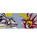 Roy Fox Lichtenstein - Whaam. Printing on canvas