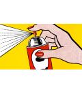 Roy Fox Lichtenstein - Spray. Stampa su tela