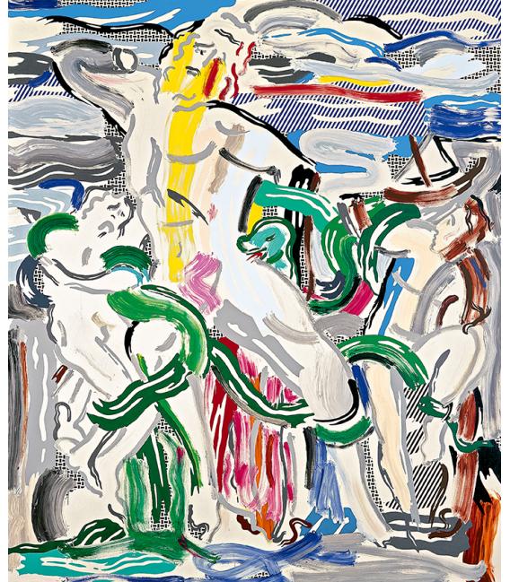 Roy Fox Lichtenstein - Laocoonte. Printing on canvas