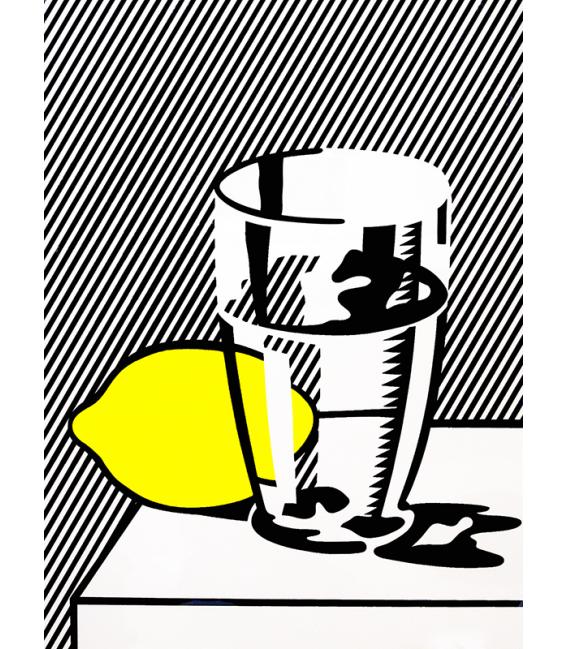 Roy Fox Lichtenstein - Still life. Printing on canvas