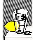 Roy Fox Lichtenstein - Still life. Stampa su tela