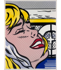 Roy Fox Lichtenstein - Shipboard Girl. Printing on canvas