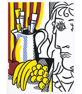 Roy Fox Lichtenstein - Still Life with Picasso Printing on canvas
