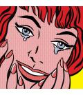 Roy Fox Lichtenstein - Pianto. Stampa su tela