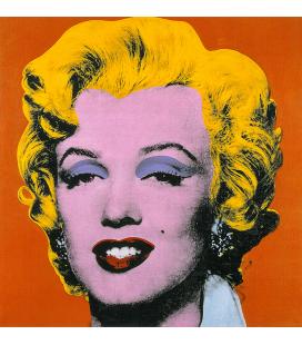 Andy Warhol - Marilyn Monroe Orange. Stampa su tela
