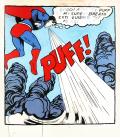 Andy Warhol - Superman. Stampa su tela