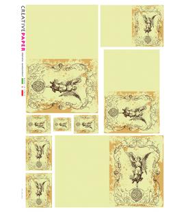 Carta di riso per decoupage VIT-SPI-0012