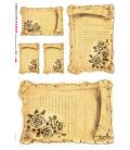 Carta di riso per decoupage VIT-FLO-0032