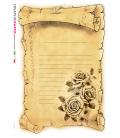Carta di riso per decoupage VIT-FLO-0031
