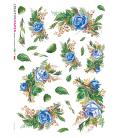 Carta di riso per decoupage VIT-FLO-0019