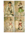 Carta di riso per decoupage VIT-FIG-0069