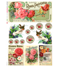 Carta di riso per decoupage VIT-FIG-0059