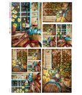 Carta di riso per decoupage VIT-FIG-0057