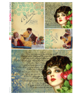 Carta di riso per decoupage VIT-FIG-0050