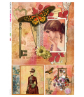 Carta di riso per decoupage VIT-FIG-0049