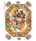 Carta di riso per decoupage VIT-FLO-0015