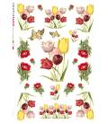 Carta di riso per decoupage VIT-FLO-0014