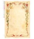 Carta di riso per decoupage VIT-FLO-0011
