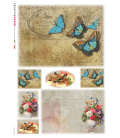 Carta di riso per decoupage VIT-FIG-0061