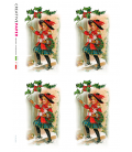 Carta di riso per decoupage VIT-FES-0032