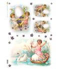 Carta di riso per decoupage VIT-FES-0004