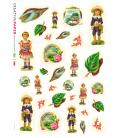 Carta di riso per decoupage VIT-BAM-0003