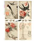 Carta di riso per decoupage VIT-ANI-0006