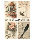 Carta di riso per decoupage VIT-ANI-0005
