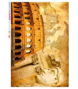Carta di riso per decoupage ITALY-0009