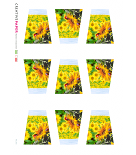 Carta di riso per decoupage FLO-0003