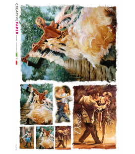Carta di riso per decoupage FIG-0119