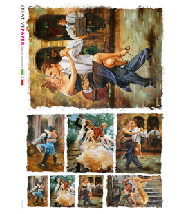 Carta di riso per decoupage FIG-0118
