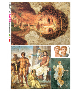 Carta di riso per decoupage FIG-0103