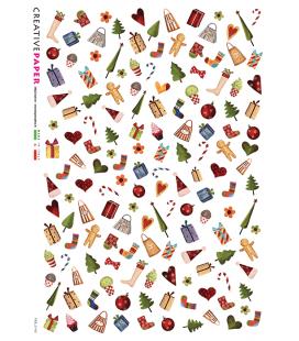 Carta di riso per decoupage FES-0140