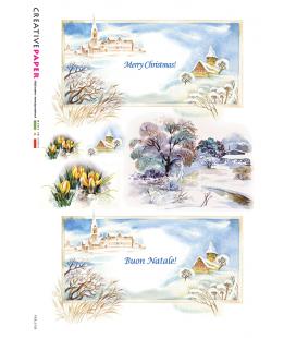 Carta di riso per decoupage FES-0132