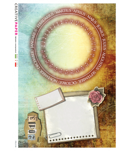 Carta di riso per decoupage FES-0130b