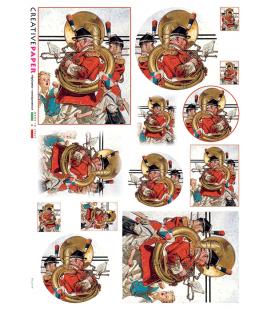 Carta di riso per decoupage FES-0114