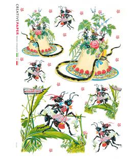 Carta di riso per decoupage FAV-0021