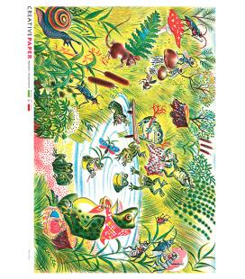 Carta di riso per decoupage FAV-0020