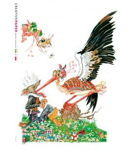 Carta di riso per decoupage FAV-0018