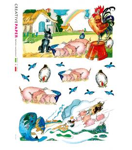 Carta di riso per decoupage FAV-0016