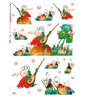 Carta di riso per decoupage FAV-0004