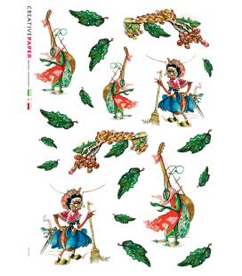Carta di riso per decoupage FAV-0003