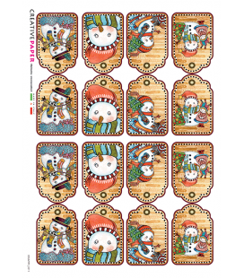 Carta di riso per decoupage COUNTRY-0011