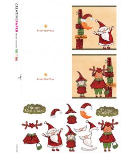 Carta di riso per decoupage CARD-0028