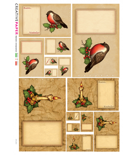 Carta di riso per decoupage CARD-0021