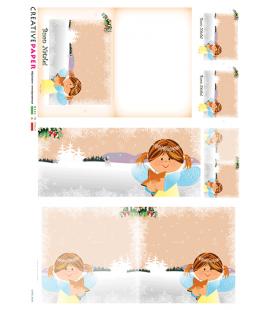 Carta di riso per decoupage CARD-0020